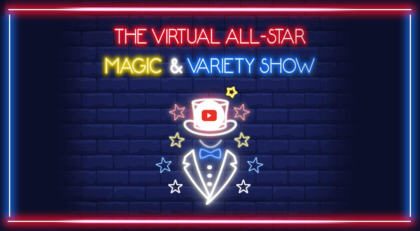 Virtual Magician | Virtual Magic Show - Andy Peters
